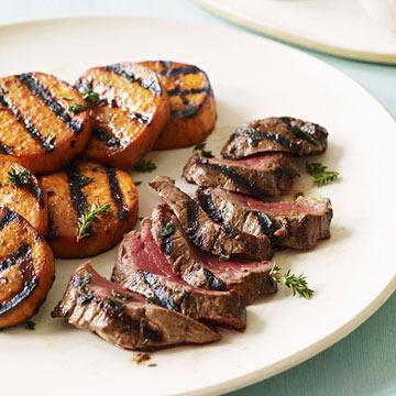 Healthy BBQ Beef Tenderloin Skirt Steak Recipe